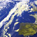 大西洋の気象システムを示すMeteosat 10 HRIT false colour image