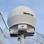 Dartcom X-Band EOS システム 船舶用アンテナ