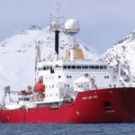 英国南極観測所の調査船RRS James Clark Rossに搭載されたDartcom HRPT/AHRPTシステム。