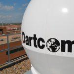 Dartcom X-Band EOS System land-based antenna