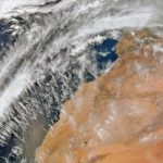 Suomi-NPP VIIRS 750m resolution true colour X-Band image showing northern Africa